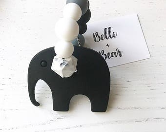 NELLY Teether in MONOCHROME | Teething toy | Baby gift |