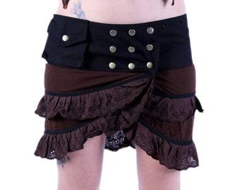 Bohemian Skirt, Gypsy Skirt,Festival Skirt, Pixie Skirt,Goa,Burning Man, Faerie,Elven,Goddess,Lace Skirt,Boho,Hippie.christmas gifts for her