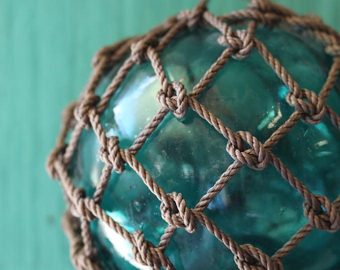 Emerald Big Vintage Fishing Float by SEASTYLE