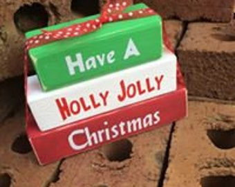 Holly Jolly Christmas Blocks
