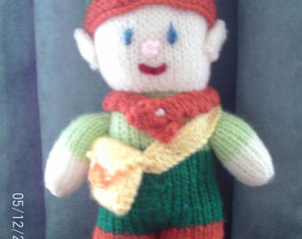 Handmade Knitted Tooth Pixie With Purse (New, Made To Order) 5+
