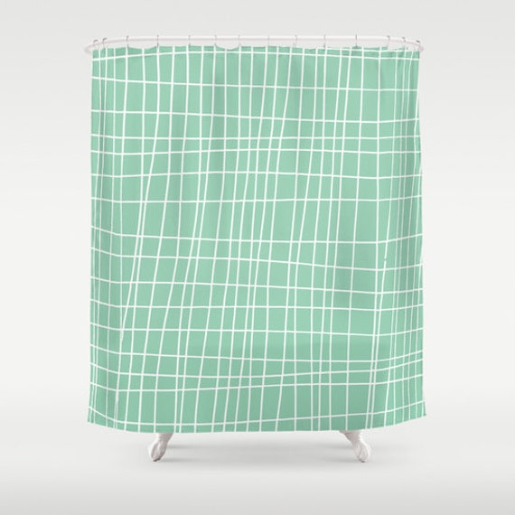 45 colors Graphic Shower Curtain Geometric Shower Curtain
