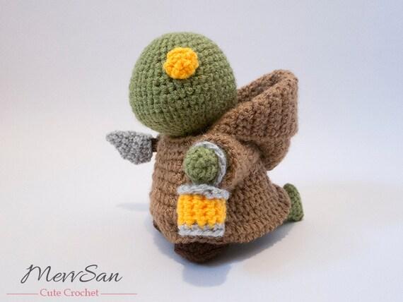 Amigurumi Magazine Pdf : Crochet pattern pdf amigurumi final fantasy tonberry doll