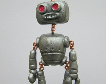 Peter the Pinch Bot Decorative Ornament