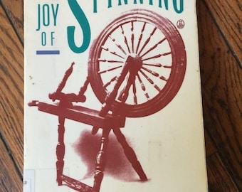Vintage The Joy of Spinning Book Marilyn Kluger