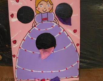 1  princess  with     8     bean  bags
