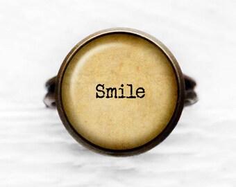 Smile Adjustable Ring