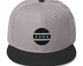 Chicago Circle Flag Snapback