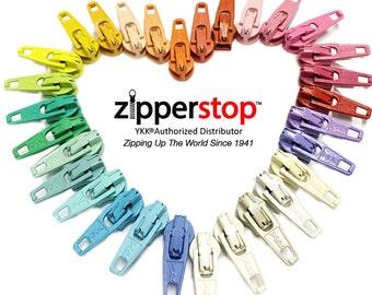 20-YKK Conceal Invisible SLIDERS~ZipperStop Wholesale  Distributor YKK®