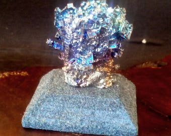 Bismuth Crystal USB DRIVE -  Crystal Covered USB Thumb Drive -  Irridescent Rainbow Colors  16 gig usb124