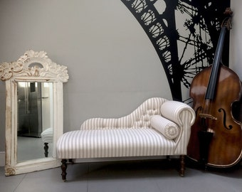 Sasha Striped Chaise Longue