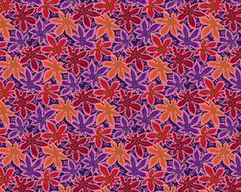 PREORDER - Kaffe Fassett - Philip Jacobs - Spring 2018 - Lacy Leaf - Red - (PWPJ093.REDXX) - 1/2 Yard++
