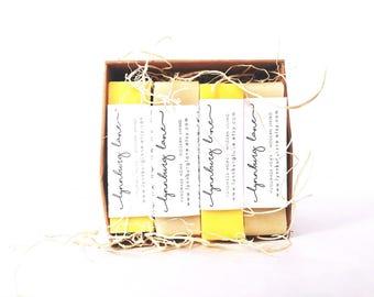 Natural Soap Sampler, Homemade Soap, Natural Skincare, Rustic Decor, Handmade Soap, Soap Box, Rustic Soaps, Essential Oil, Soap Sample