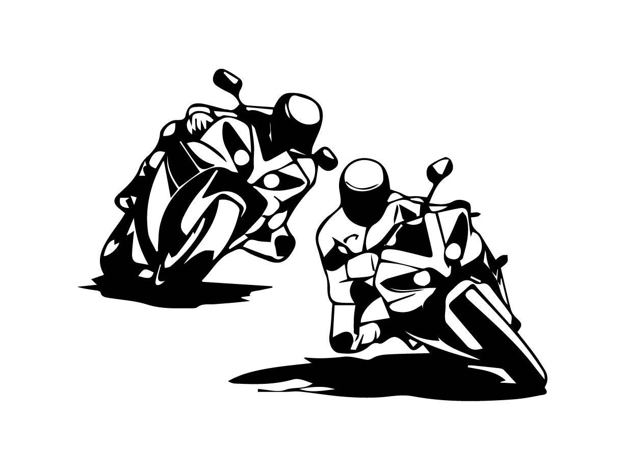 Charming Beau Super Bike Sports Race Speed Chopper Moto Helmet Motorbike Biker .SVG  .EPS .
