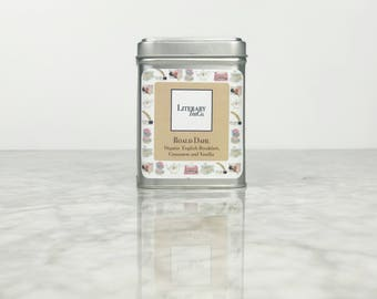 Roald Dahl Tea - Loose Leaf Tea.. The perfect Literary gift, Mothers Day Gift for Tea Lover, Book Lover or Bibliophile! English Breakfast