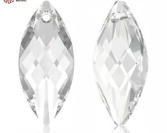 Swarovski 6110 - Navette Crystal Pendant