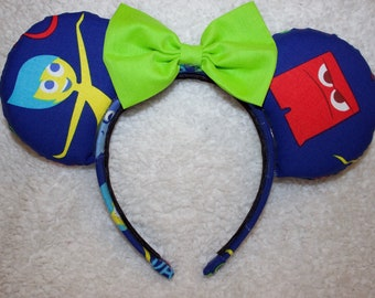 Inside Out Pixar Mouse Ears