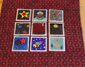 Bead-It-Forward Space Themed Quilt BIF12