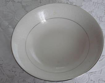 Ivory fantasy China Serving Bowl Vintage China Bowl