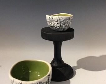 Hand built Textural Bowls, small