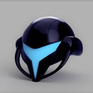 Metroid Prime 3: Corruption Dark Samus Helmet 3D Model (3D Printing)