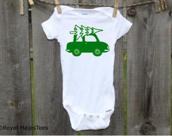 Christmas Tree Onesies®, Christmas kids shirt