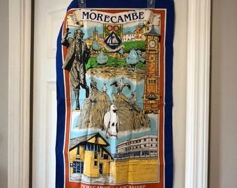 "MoreCambe Lancashire Wall Potato Sack Print Wall Decor 18.75"" x 31"