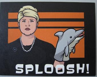 Archer - Pam Postcard