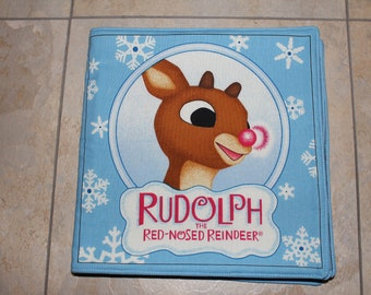 Rudolf Quilted Fabric Children's Book