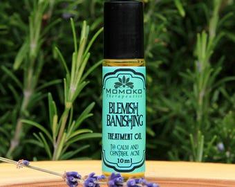 Blemish Banishing Treatment Oil-organic, vegan, and all natural acne spot treatment