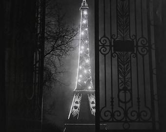 Le Tour Eiffel by Gyula Halász Brassai