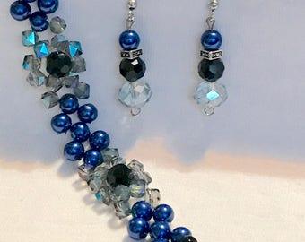 Bracelet & Earrings crystal dream A21