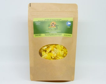 VATA-chips Herb Infused Organic Coconut Chips (Turmeric) * GRAIN FREE