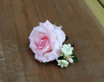 Pink Floral Ring, Romantic Floral Ring, Wedding Jewelry, Flower Ring, Boho Floral Ring, Pink Rose Ring, Handmade Ring, Flower Jewelry