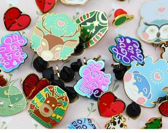 Enamel Pin 'Seconds' Sale - Animals, Halloween, Christmas, Valentine's Day
