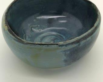 Steel Blue Incense Censor Holder Rustic