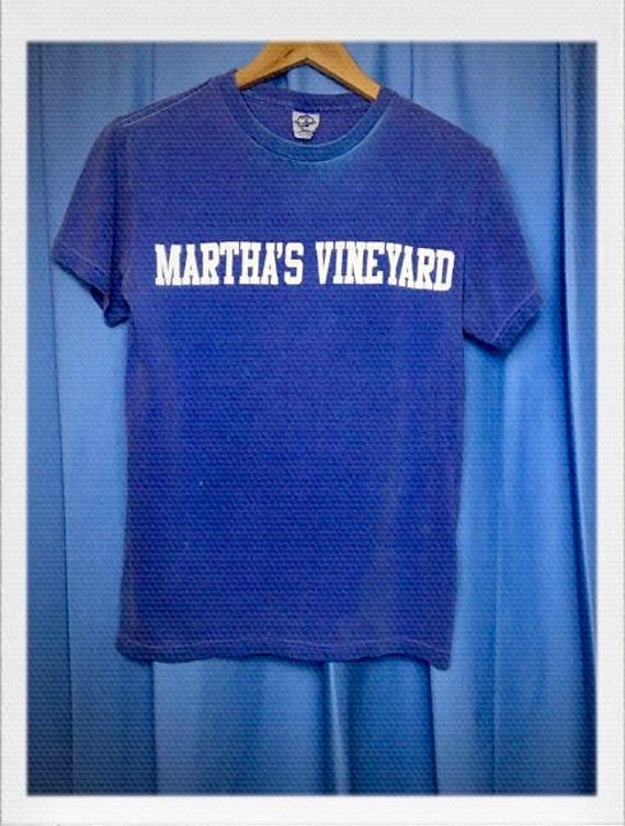 "Vintage Martha's Vineyard Tee Size Small 16"" width 24"" length"