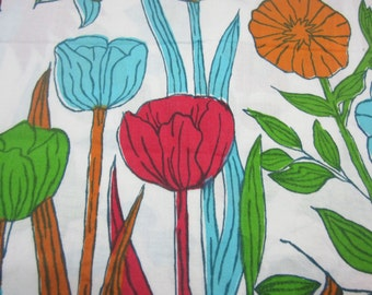Spring  Floral Fabric-2 yards