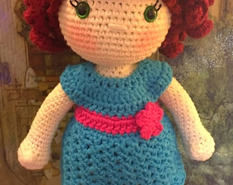Audrey Doll - Amigurumi Crochet Pattern with 2 outfits
