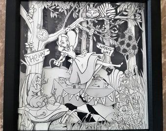 Alice in wonderland 3D art