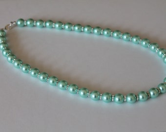 Turquoise Pearl Necklace