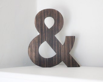 "SALE**Wooden Decor ""&"" Sign"