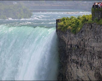 Poster, Many Sizes Available; Niagra Falls Horseshoe Falls