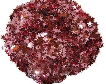 Pink Glitter Stars, Pink Stars, Party Glitter, Pink Glitter, Glitter Stars, Star Confetti, Pink Star Confetti, Pink Confetti, Pink