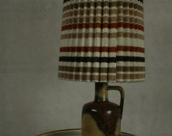 Vintage  table lamp by Ruscha ceramic