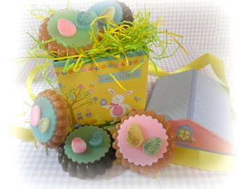 Easter Cookies Soaps  Gift Set