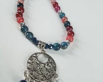 Natural Tourmaline gemstone necklace