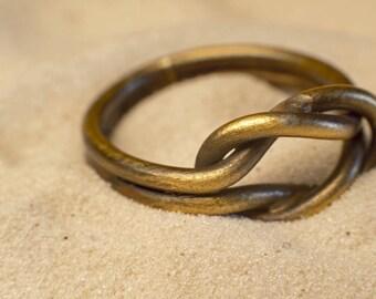 Brass Knot Ring