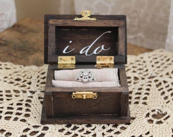 I Do Ring Bearer Box