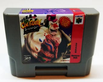 N64 Memory Pak with Clayfighter sticker (256KB)